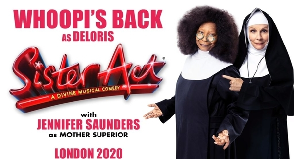 Spotlight on Whoopi Goldberg: star of new West End Sister Act musical