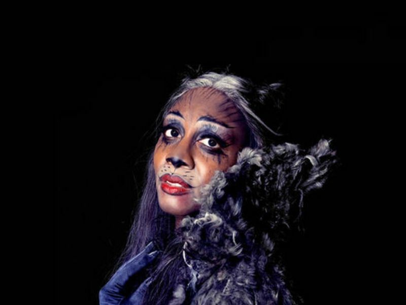 Beverley Knight as Grizabella in Cats at the London Palladium (2015).