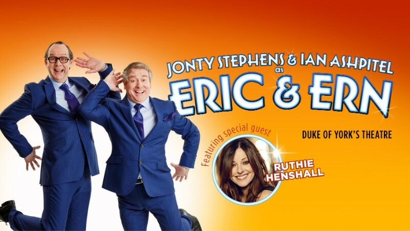 Ruthie Henshall joins West End production of Eric and Ern