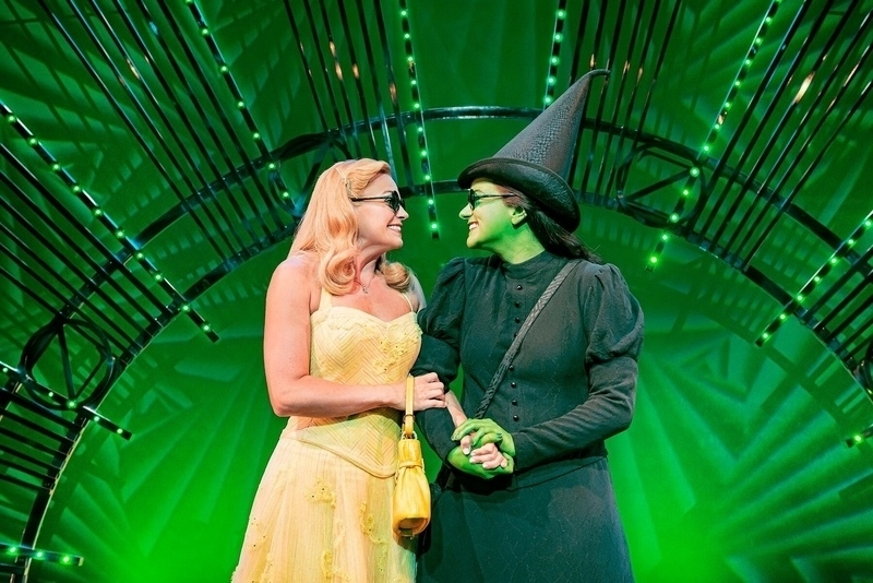 West End Wicked musical extends its booking period at The Apollo Victoria