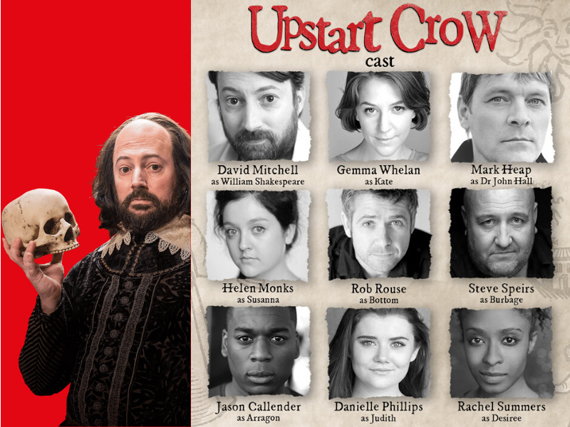 Full cast announced for The Upstart Crow starring David Mitchell
