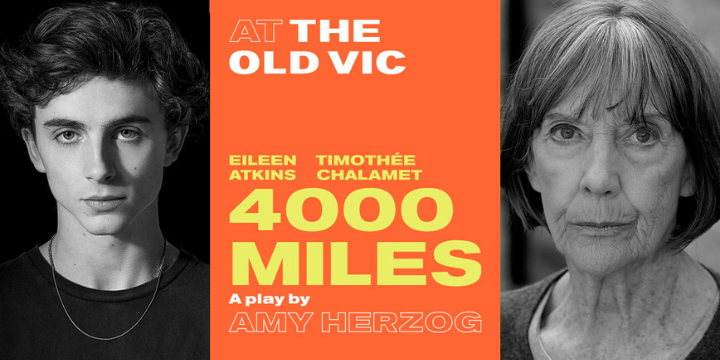 4000 Miles tickets on sale now for Old Vic run!