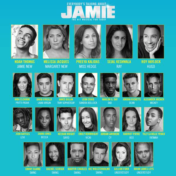 New 2020 casting announced for Everybody's Talking About Jamie