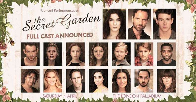 Full casting announced for West End musical The Secret Garden