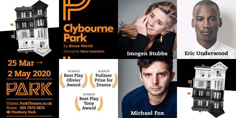 Full cast announced for Clybourne Park at the Park Theatre