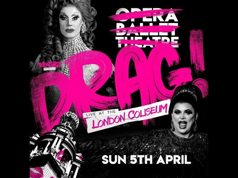 Baga Chipz and Divina de Campo to headline Drag! Live one-off at the London Coliseum