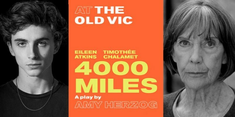 4000 Miles at The Old Vic postponed, all tickets remain valid for rescheduled run