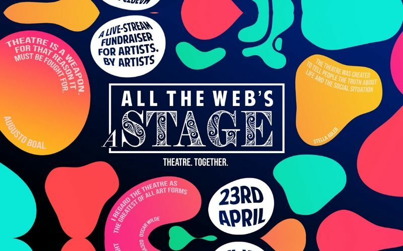 Jodie Prenger, Danny Mac, and others to participate in online charity project All the Web's a Stage for Shakespeare Day