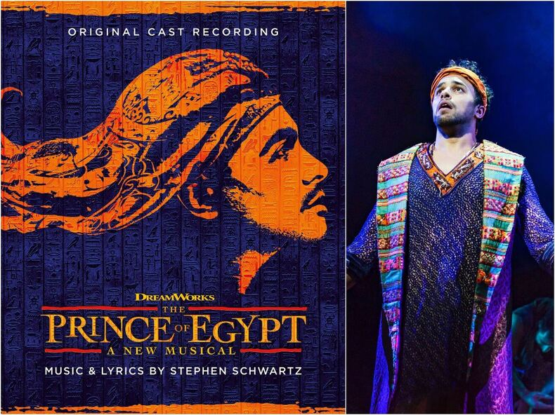 West End Cast Recording from The Prince of Egypt musical to be released!