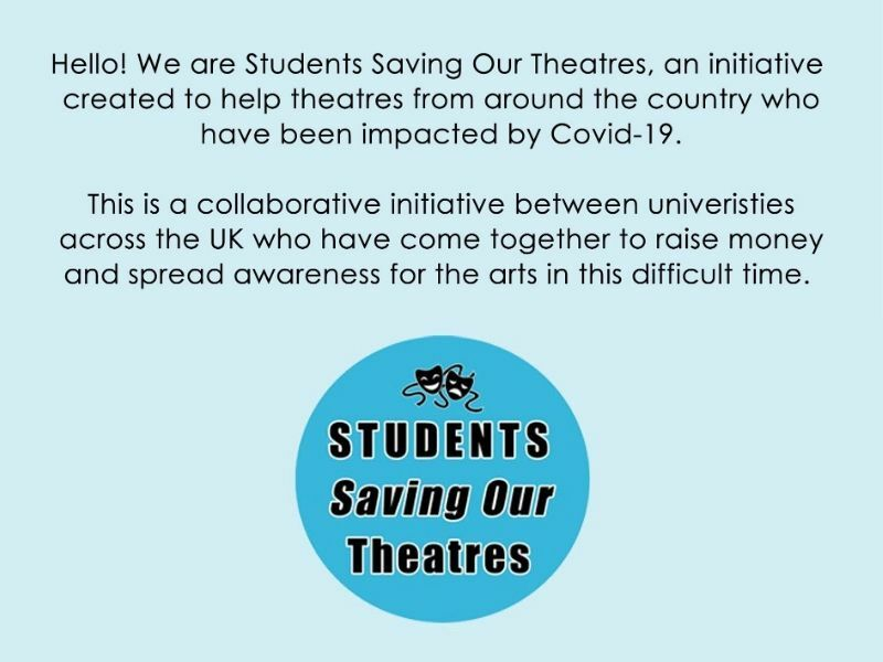 Warwick Uni students launch campaign Students Saving Our Theatres to raise £10,000