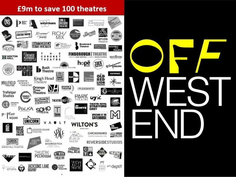 """Only"" £9m needed to save 100 independent fringe theatres in London from financial ruin post-lockdown"