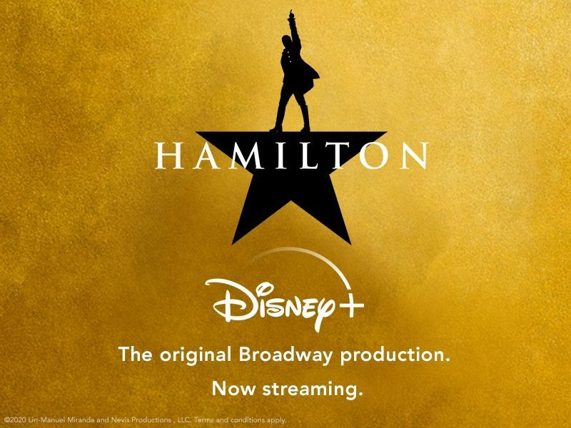 Filmed Broadway production of Hamilton now available to stream on Disney+