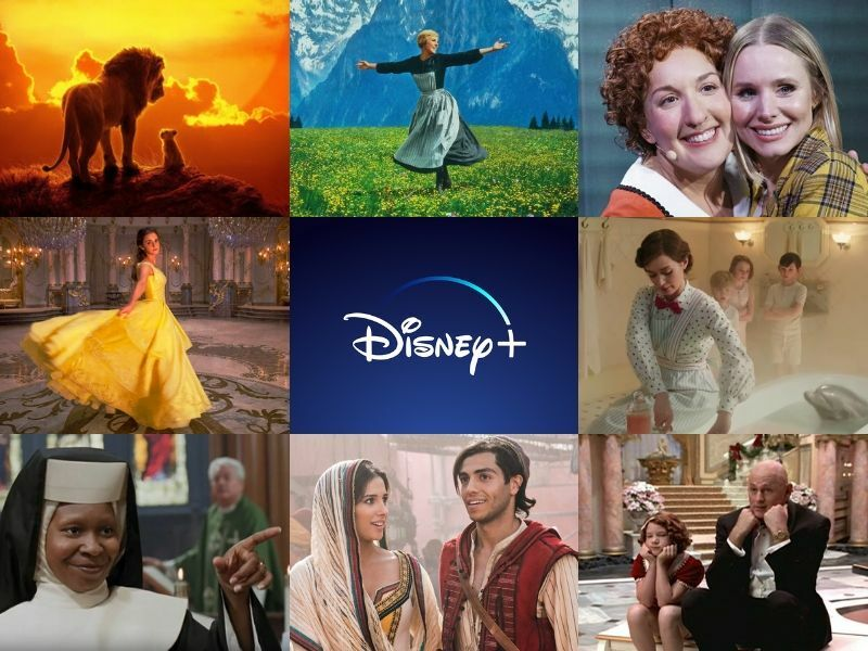 20 musicals, theatrical films and programmes you can watch on Disney+