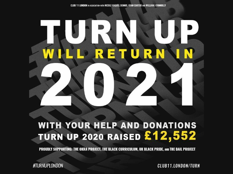 Turn Up London concert has raised £12,552 for charity, announces plans to return in 2021