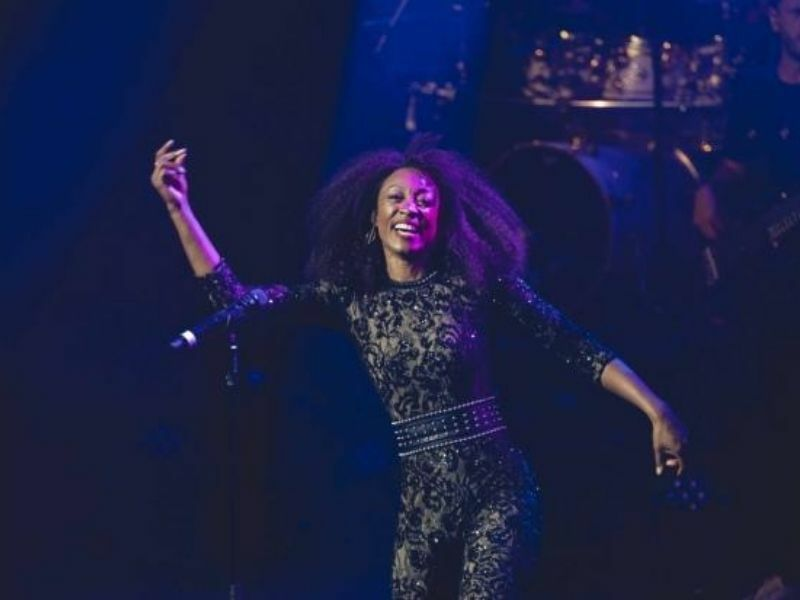 PHOTO FLASH: Beverley Knight performs for Andrew Lloyd Webber's socially distanced pilot show at the London Palladium