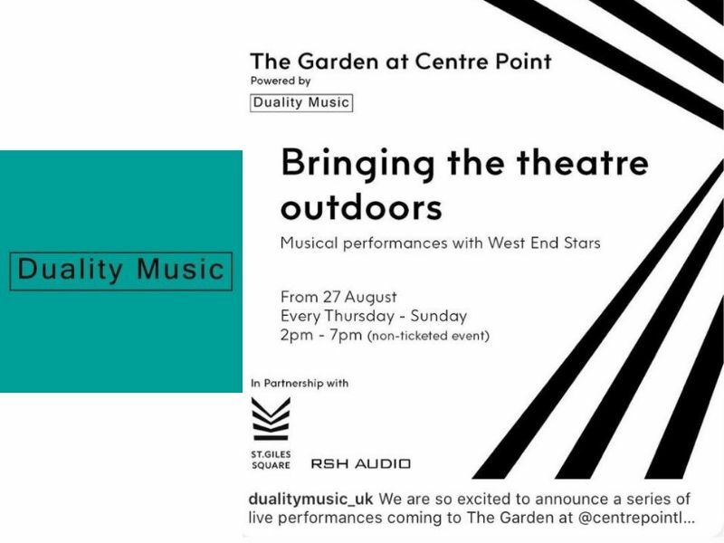 West End stage stars to perform free outdoor concerts in London city centre