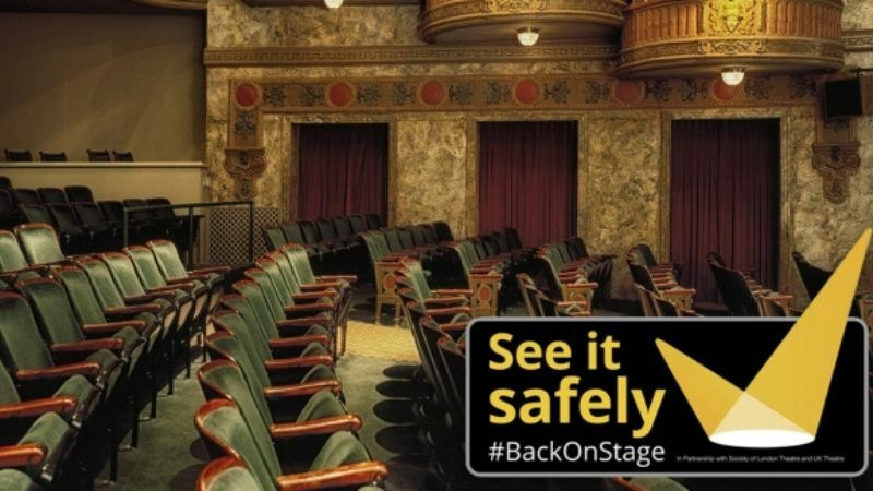 "SOLT and UK Theatre launch new ""See It Safely"" campaign to improve audience confidence"