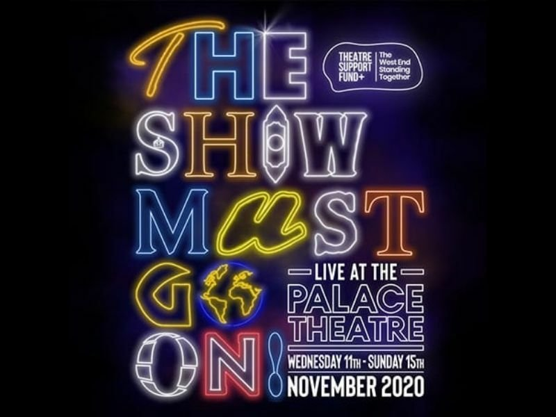 Cast announced for The Show Must Go On! Live at the Palace