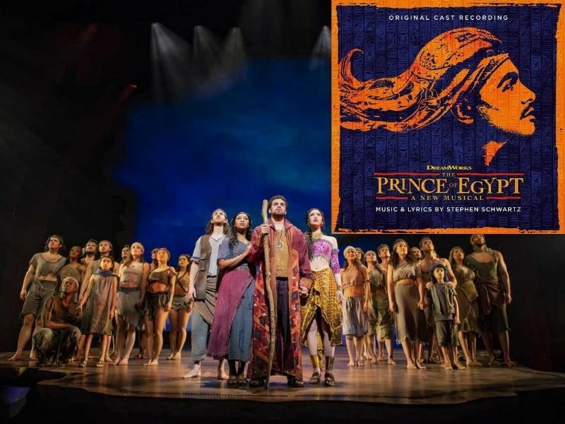 The Prince of Egypt Cast Recording CD to be released 20 November