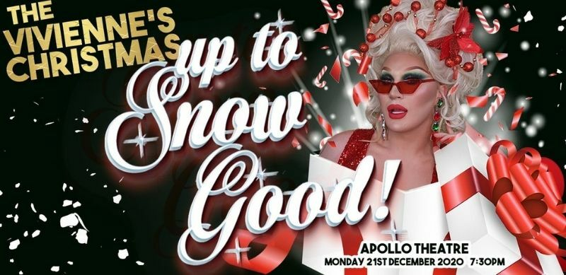RuPaul's Drag Race UK winner The Vivienne to host a Christmas show at the Apollo Theatre