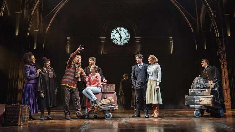 Book tickets live from a seating plan to see Harry Potter and the Cursed Child