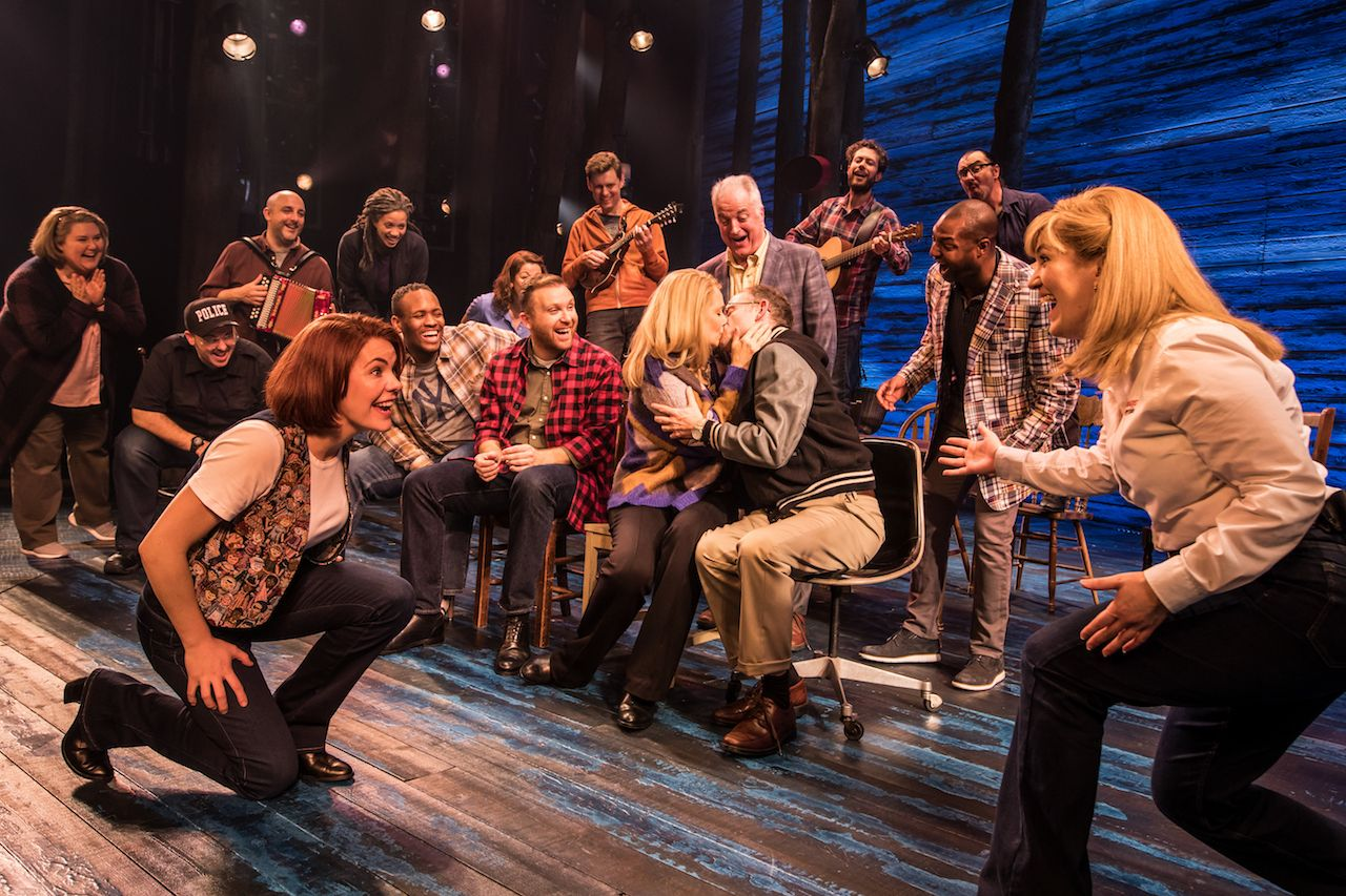 Original West End cast of Come From Away Musical