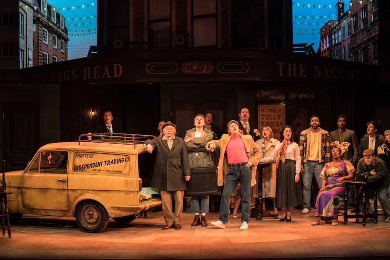Only Fools and Horses Musical West End production shot