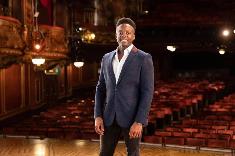 Kayi Ushe will play Simba when London's The Lion King reopens