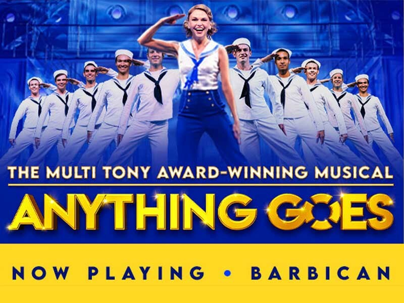 Anything Goes Breaks Barbican Records