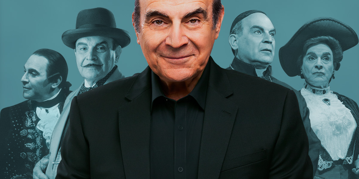 Sir David Suchet's Poirot and More, A Retrospective comes to the West End!