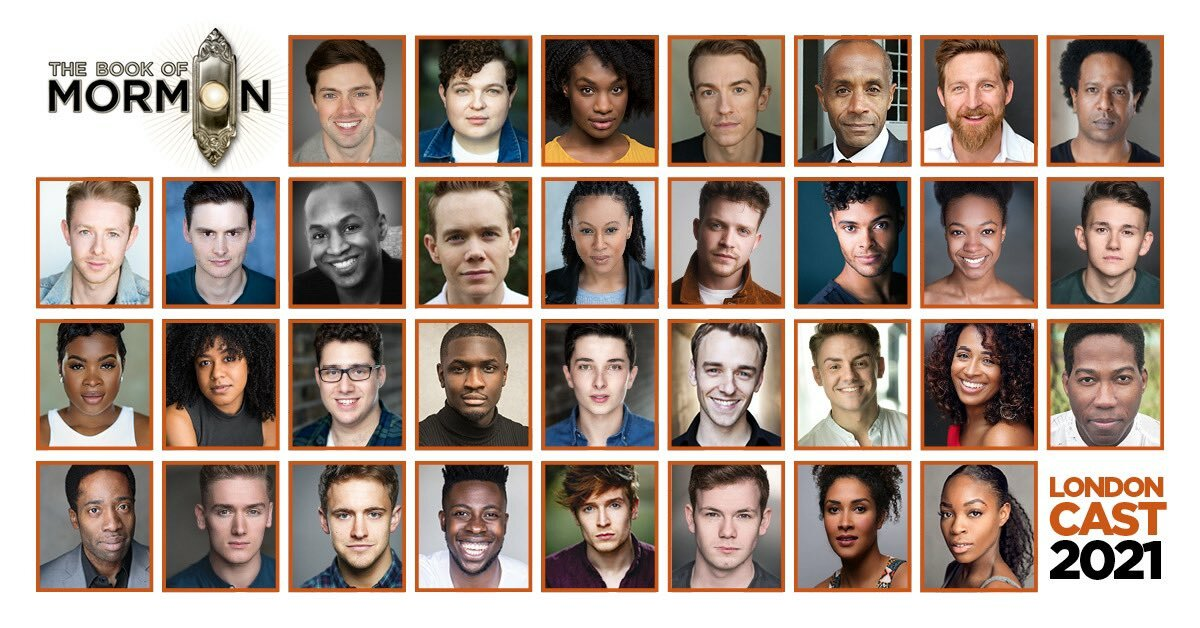 West End The Book of Mormon reopening cast announced!