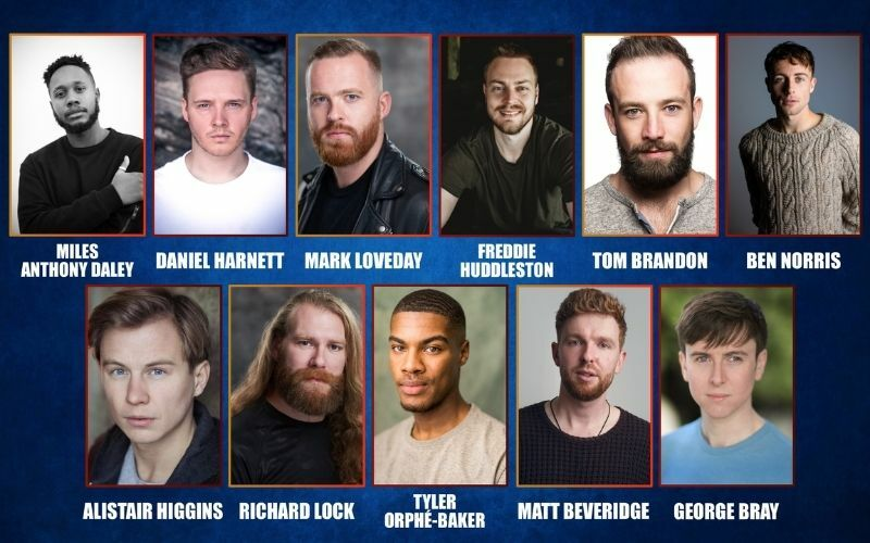 The Choir of Man full West End cast has been announced!