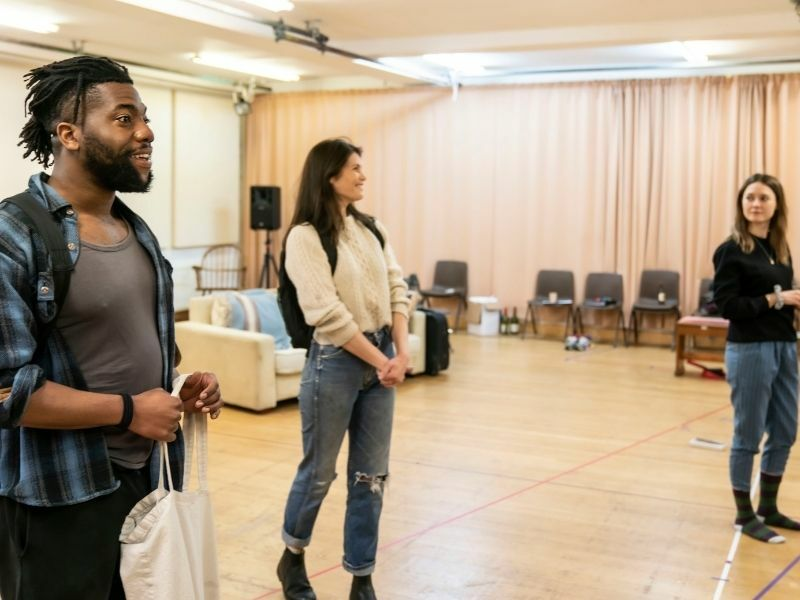 Walden rehearsal images
