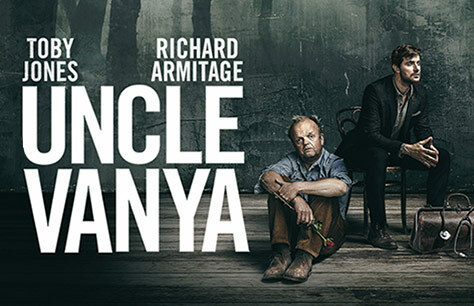 New production of Uncle Vanya starring Toby Jones and Richard Armitage to run at the Harold Pinter Theatre in January 2020
