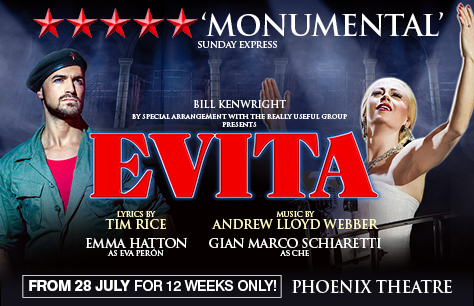 REVIEW: Evita (in exactly 250 words)