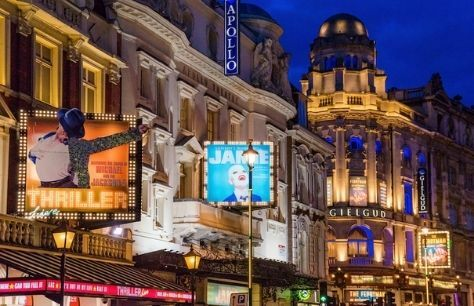 West End and London theatres to close on Wednesday until further notice