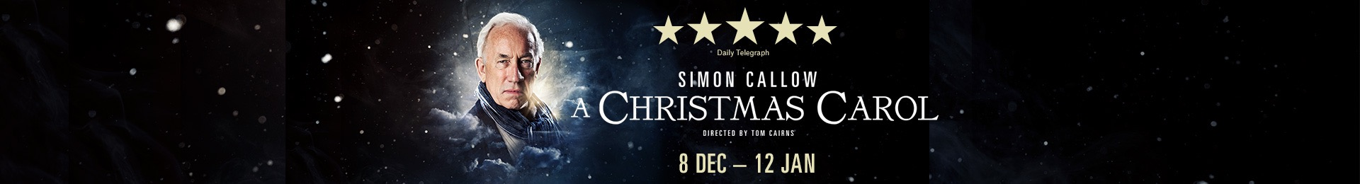 A Christmas Carol with Simon Callow a the Arts Theatre London tickets