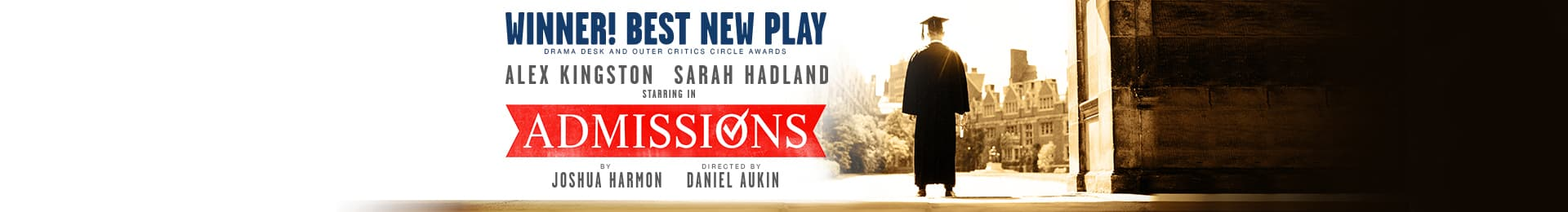 Admissions banner image