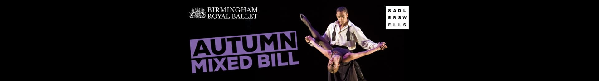 Birmingham Royal Ballet: Autumn 2019 Mixed Bill banner image
