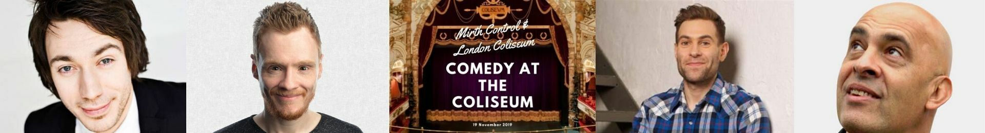 Comedy at the Coliseum banner image