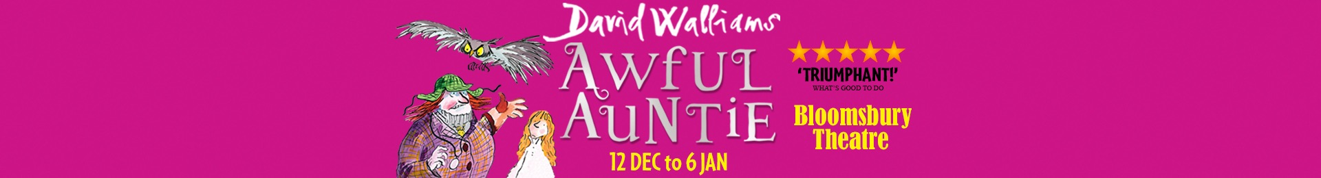 David Walliams' Awful Auntie banner image