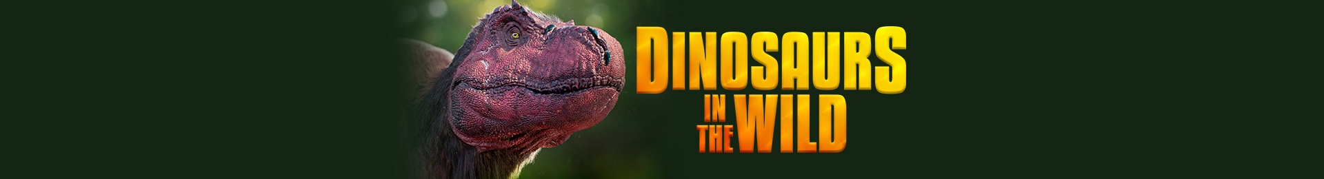 Dinosaurs in the Wild banner image