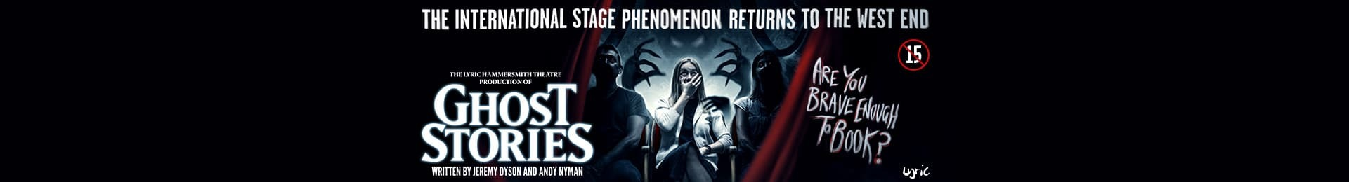 Ghost Stories banner image