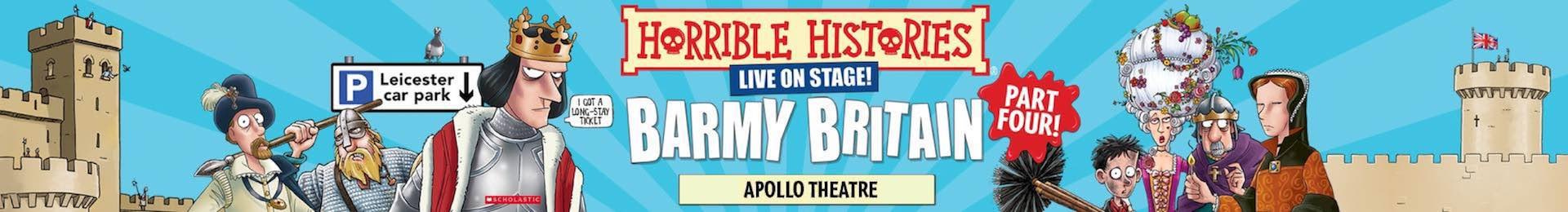 Horrible Histories: Barmy Britain - Part Four! banner image