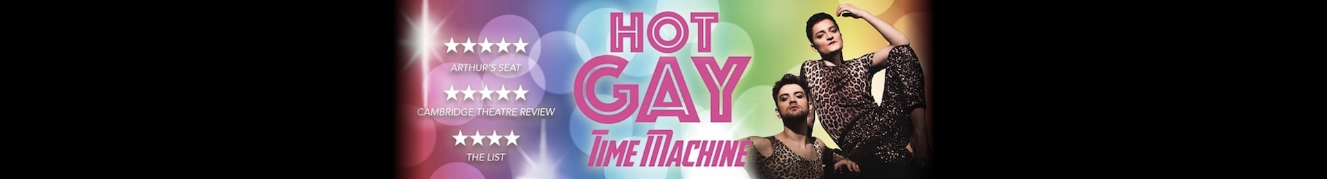 Hot Gay Time Machine At The Trafalgar Studios
