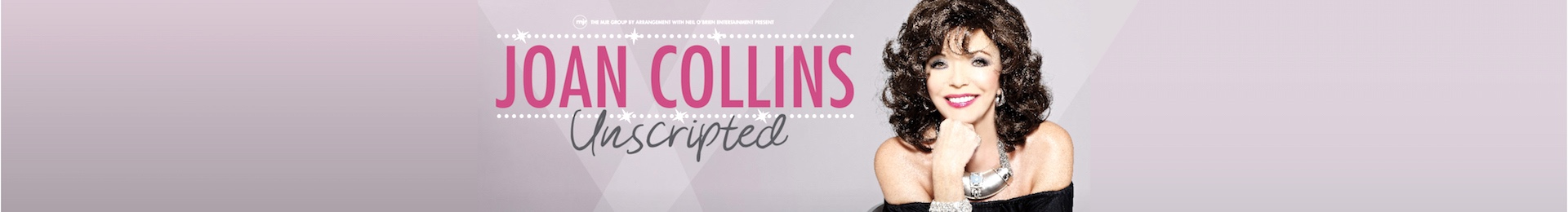 Joan Collins Unscripted banner image