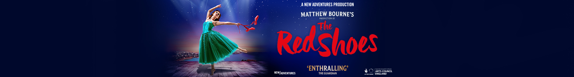 The Red Shoes - event header