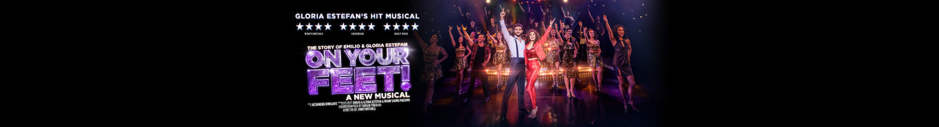 On Your Feet! The Story of Emilio and Gloria Estefan banner image