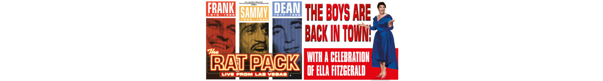 Rat Pack - Live from Las Vegas tickets