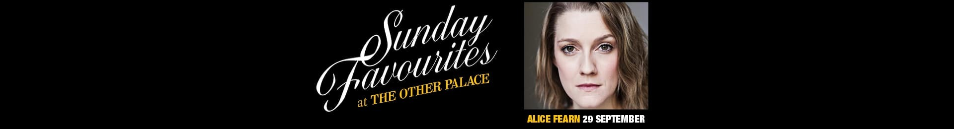 Sunday Favourites: Alice Fearn banner image